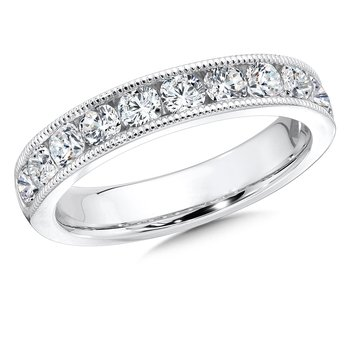 Diamond Annivarsary Band in 14K White Gold (1/4 ct. tw)