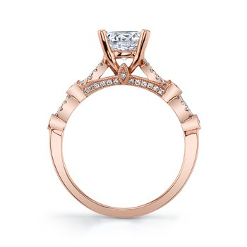 MARS 27179 Diamond Engagement Ring, 0.21 ctw