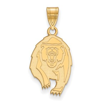 Gold-Plated Sterling Silver University of California Berkeley NCAA Pendant