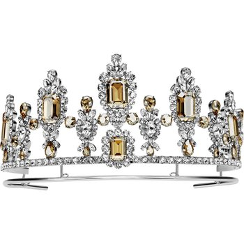 Anna Dello Russo Tiara, Golden, Palladium plating