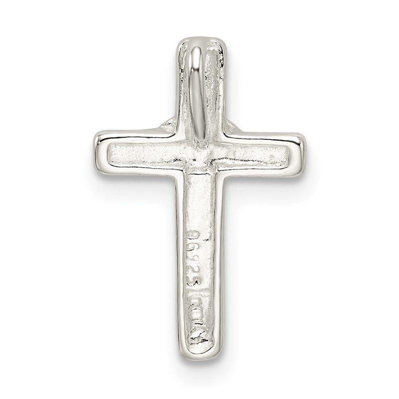 Quality Gold Sterling Silver Small Cross Pendant