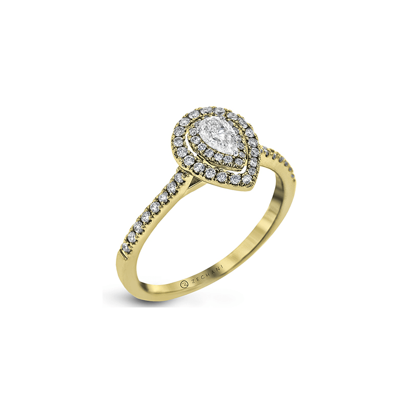 Zeghani ZR1870-Y ENGAGEMENT RING