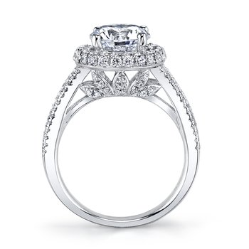 MARS 25637 Diamond Engagement Ring 1.43 Ctw.