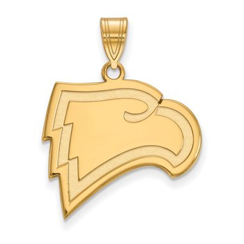 Gold-Plated Sterling Silver Winthrop University NCAA Pendant