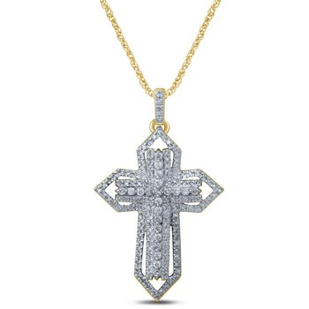 14K 0.50Ct Diamond Pendant