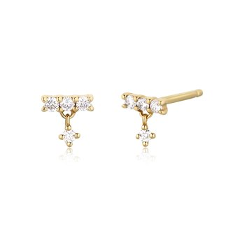 DIANA | Dangling Diamond Studs