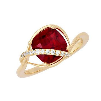 Ruby Ring-CR11736YRU