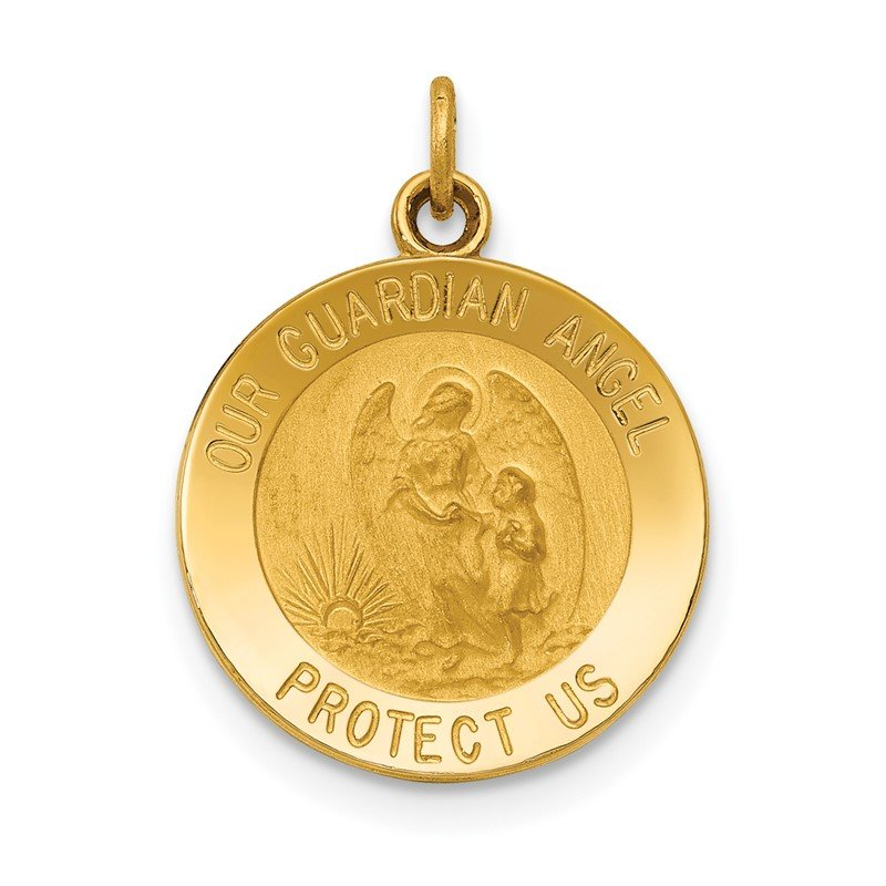 J.F. Kruse Signature Collection 14k Guardian Angel Medal Charm