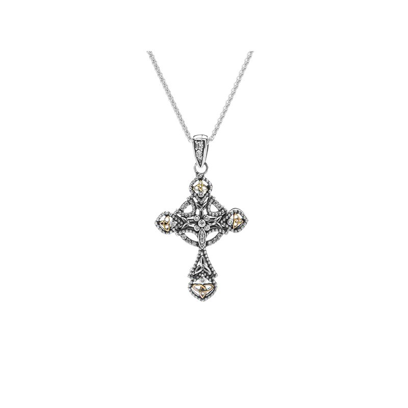 Keith Jack Celtic Cross Pendant