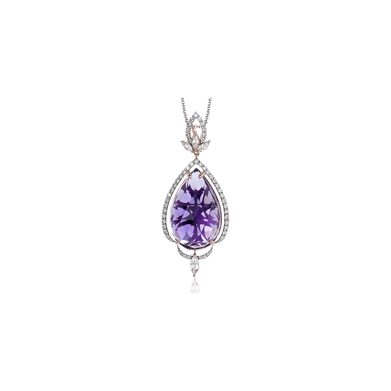 Zeghani ZP725 COLOR PENDANT