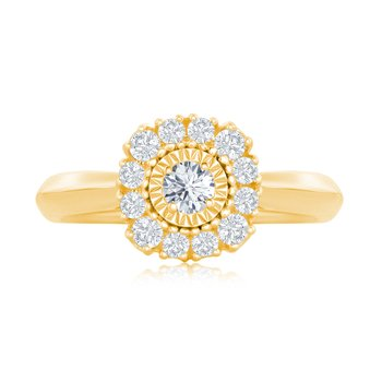 CUSHION MIRACLE FLOWER RING