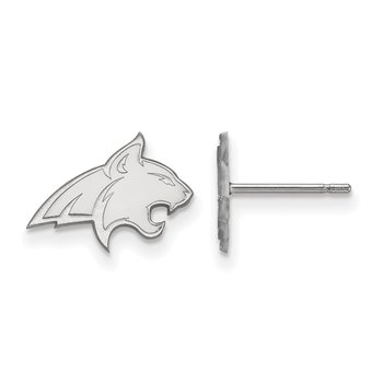 Sterling Silver Montana State University NCAA Earrings