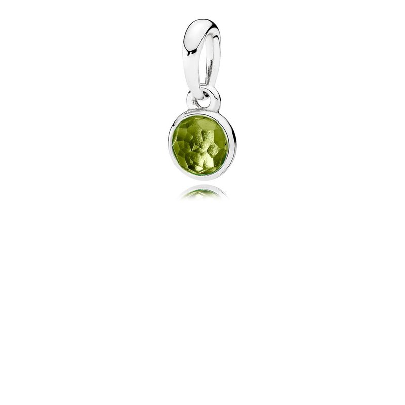 PANDORA August Droplet, Peridot