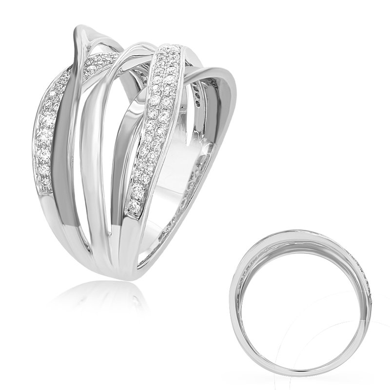 S. Kashi  & Sons White Diamond Fashion Ring