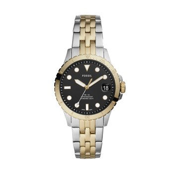 FB-01 Three-Hand Date Two-Tone Stainless Steel Watch