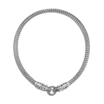 Legends Naga 7.5MM Necklace in Silver