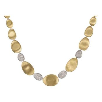 Diamond Lunaria Fashion Necklace