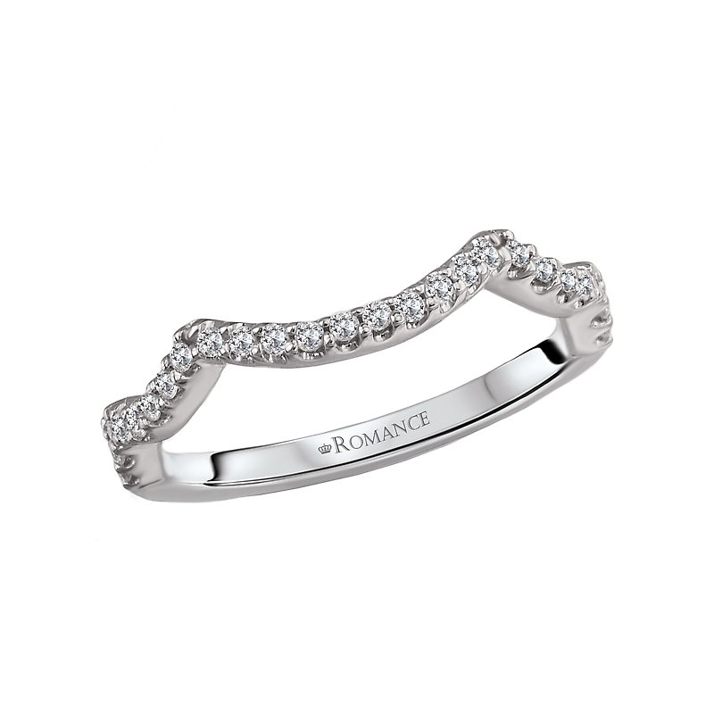 LaVie Curved Wedding Band