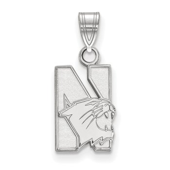 Sterling Silver Northwestern University NCAA Pendant