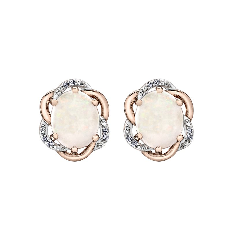 Timeless Beauty Opal Earrings