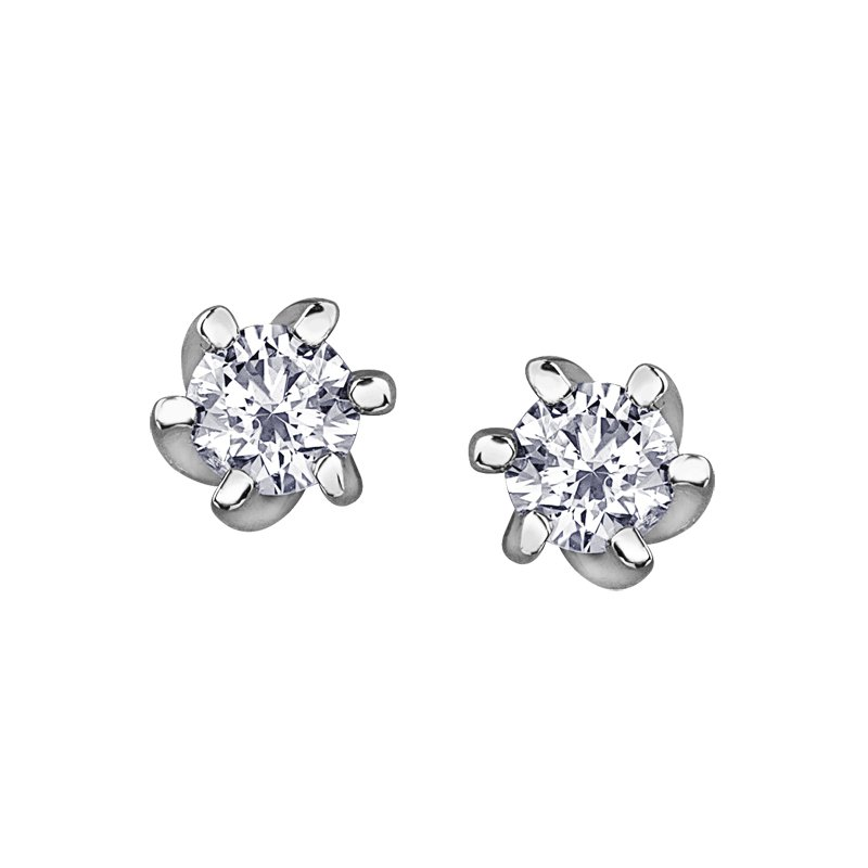 Canadian Forever Jewellery Canadian Diamond Stud Earrings