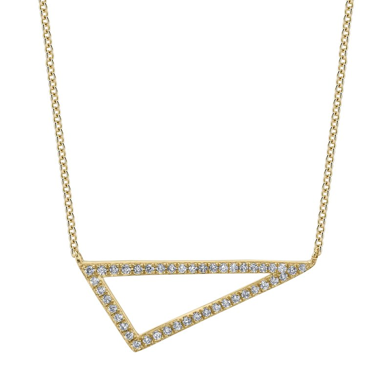 MARS Jewelry MARS 26849 Fashion Necklace, 0.13 Ctw.