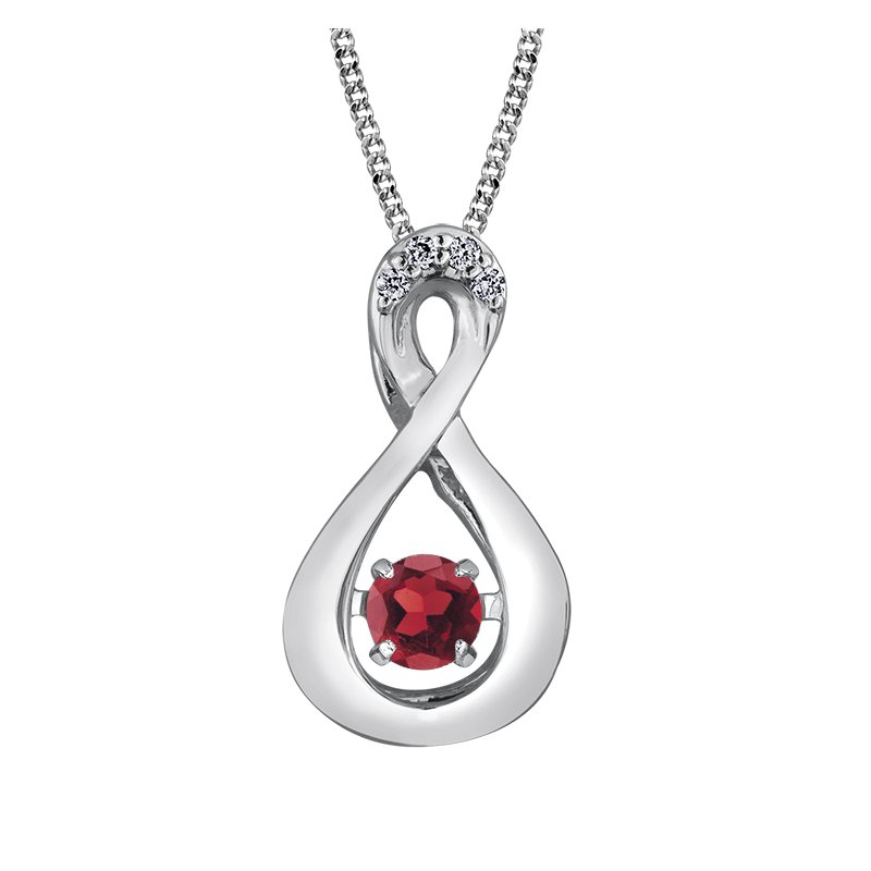 Diamond Days Pulse™ Garnet Pendant