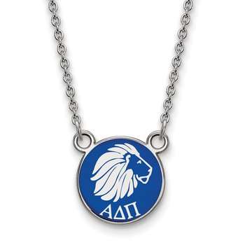Sterling Silver Alpha Delta Pi Greek Life Necklace