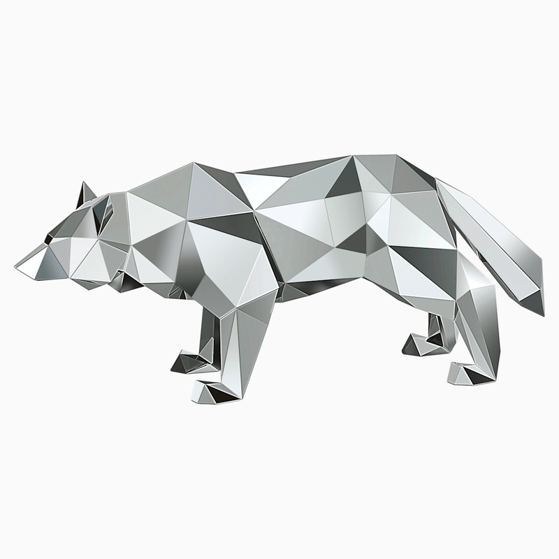 Swarovski Wolf by Arran Gregory