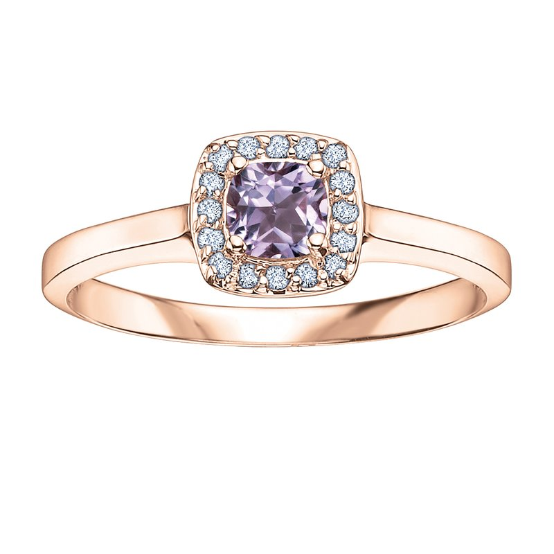 Timeless Beauty Pink Amethyst Ladies Ring