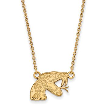 Gold Florida A&M University NCAA Necklace