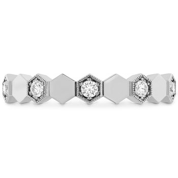 0.3 ctw. HOF Hex Eternity Band