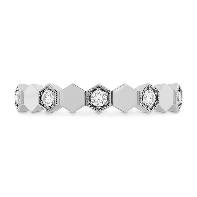 Hearts on Fire 0.3 ctw. HOF Hex Eternity Band