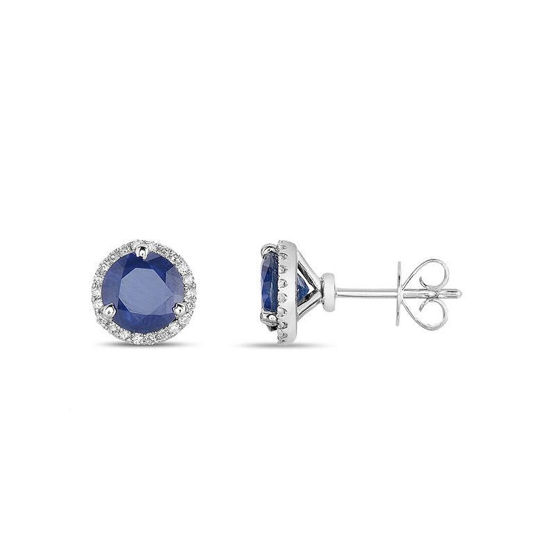 S. Kashi  & Sons Three Prong Earring Setting