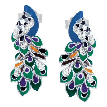Love in Plume Earrings