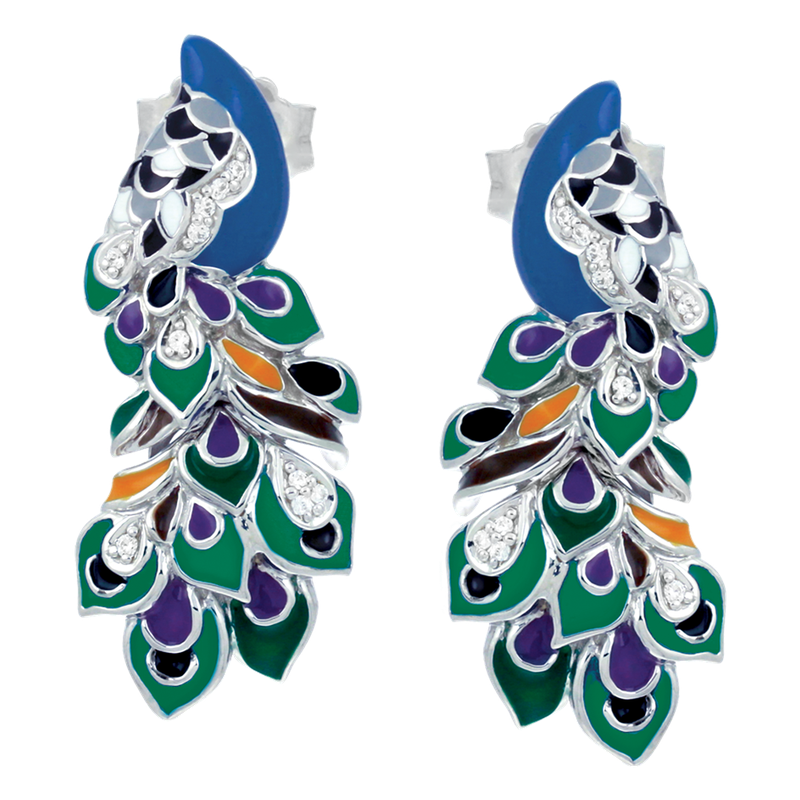 Belle Etoile Love in Plume Earrings