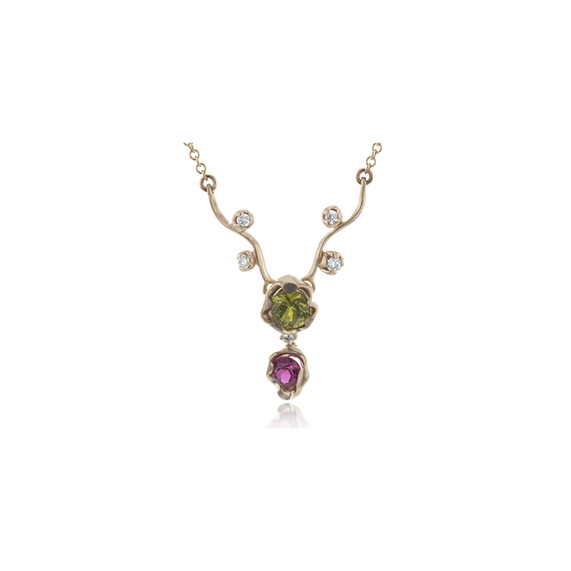 Simon G LP4594-R COLOR PENDANT