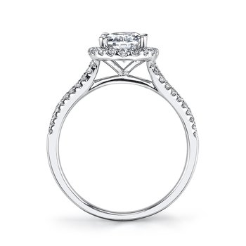 25477 Diamond Engagement Ring 0.41 ct tw