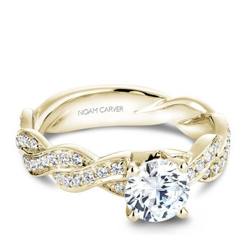 Noam Carver Modern Engagement Ring B059-01YA