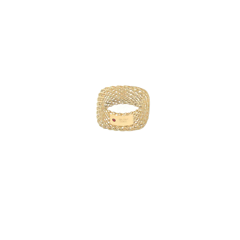 Roberto Coin 18Kt Gold Square Band