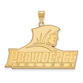 Gold-Plated Sterling Silver Providence College NCAA Pendant
