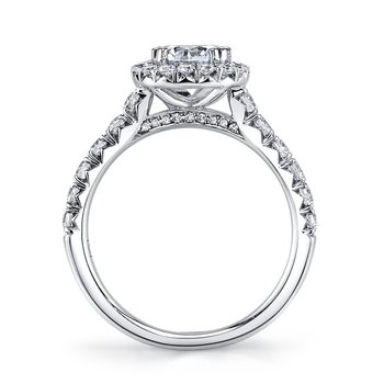 MARS 25571 Diamond Engagement Ring 0.74 ct tw