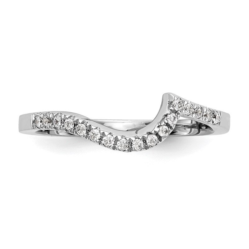 True Origin 14kw True Origin Lab Grown Diamond VS/SI, D E F, Contoured Wedding Band