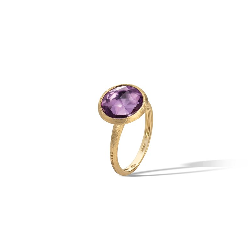 Marco Bicego Jaipur Amethyst Medium Stackable Ring