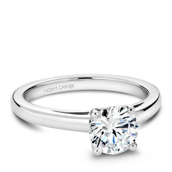 Noam Carver Modern Engagement Ring B036-02A
