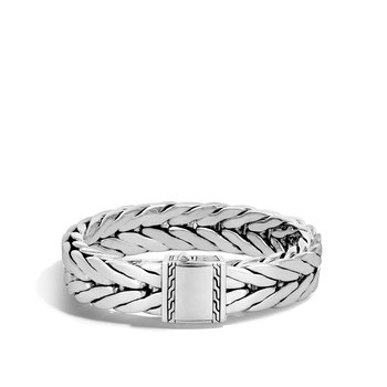 Modern Chain 16MM Bracelet in Silver