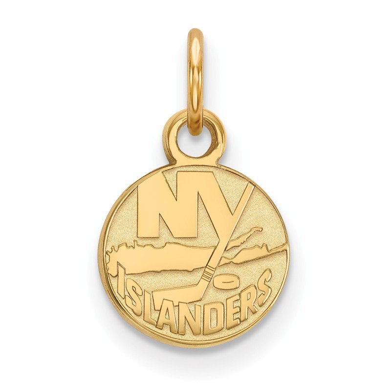 NHL Gold-Plated Sterling Silver New York Islanders NHL Pendant