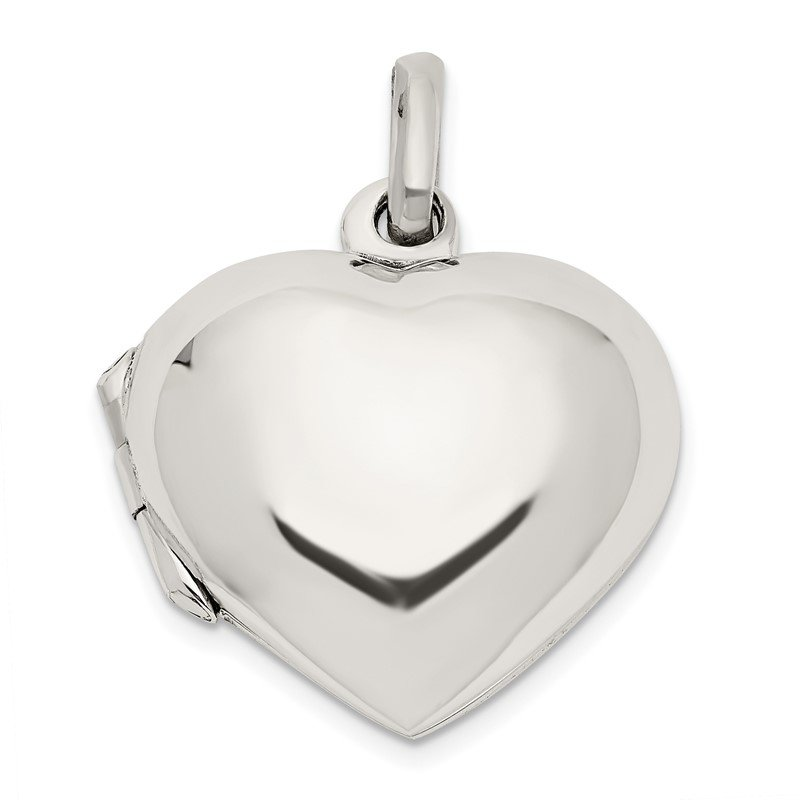 Quality Gold Sterling Silver Heart Locket