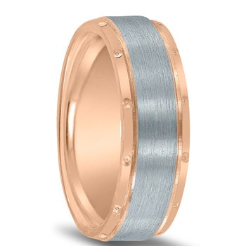 Colors Collection Two-tone Wedding Band NT16701