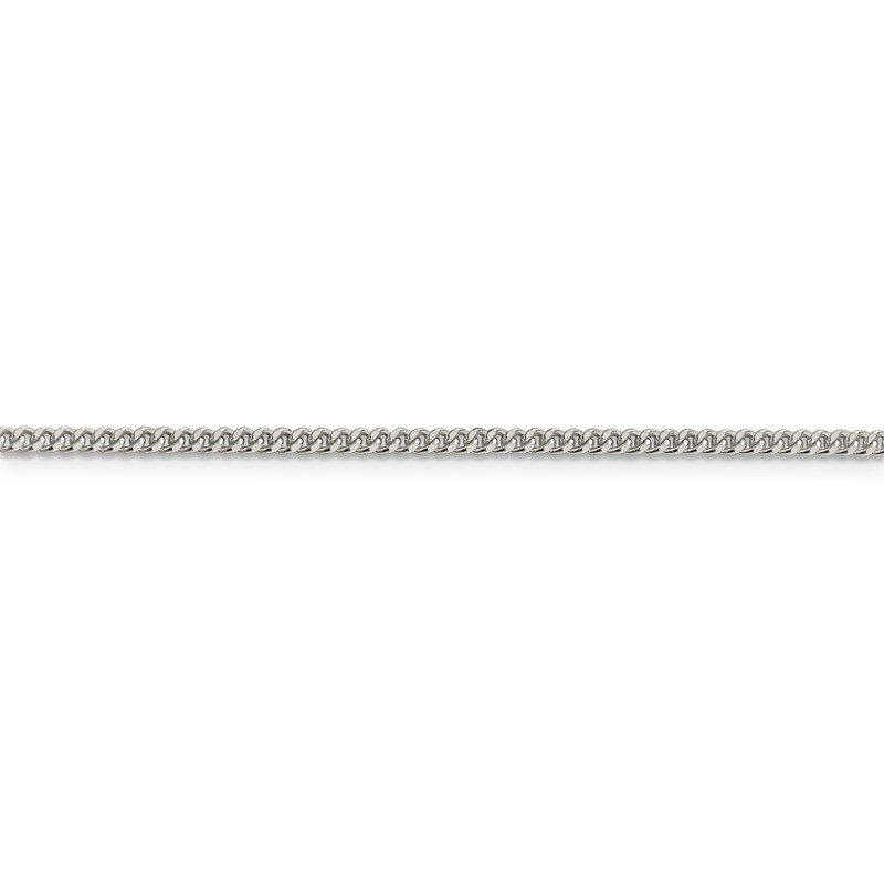 Quality Gold Sterling Silver 2.75mm Diamond-cut Rope Chain